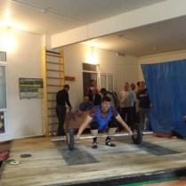 Хусаинов Ибрагим - 3 место в весовой категории до 105 кг.