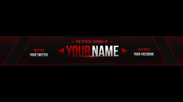Youtube Banner Template Download | shatterlion.info