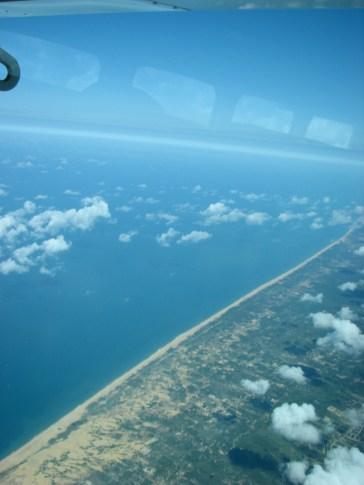 Miles and miles of Sri Lankan beach on the West coast.