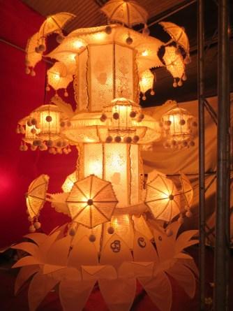 More beautiful lantern creations.