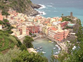 The five villages built into the cliffs in Cinque Terre are like something out of a fairy tale.