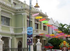 Some very nice buildings in George Town.