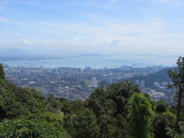 Another look from the top of Penang Hill.