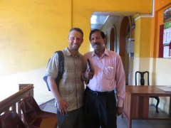 Shaun catches up with Dr. Mendis