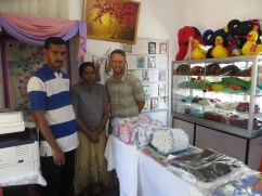 The hospital now has a store in the community were jewellery, plush toys and other goods made by the patients are sold.