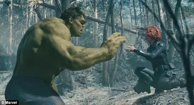 Black+Widow+and+the+Hulk