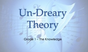 Grade 1 Undreary Theory