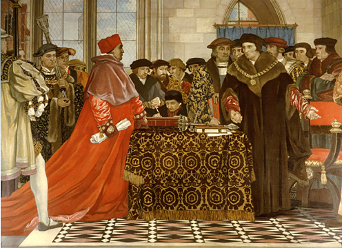 Thomas More Defending the Liberty of the House of Commons