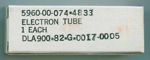 Generic American Military Tube Box