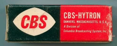 CBS-Hytron Tube Box