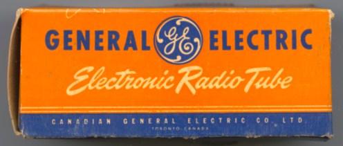 Canadian General Electric alternate Tube Box
