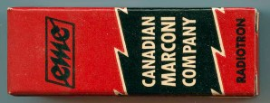 Canadian Marconi later Tube Box