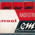 Canadian Marconi Five Tube Box