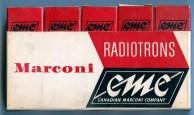 Canadian Marconi Five Tube Box