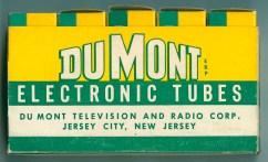 DuMont Five classic Tube Box