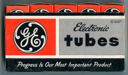 General Electric Five (Recyclable) Tube Box