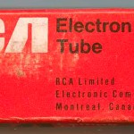RCA Canada later Tube Box