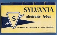 Sylvania Five Tube Box