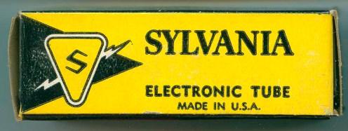 Sylvania Tube Box