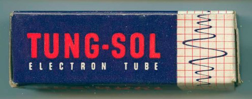 Tung-Sol Tube Box