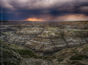 Horsethief Canyon Storm