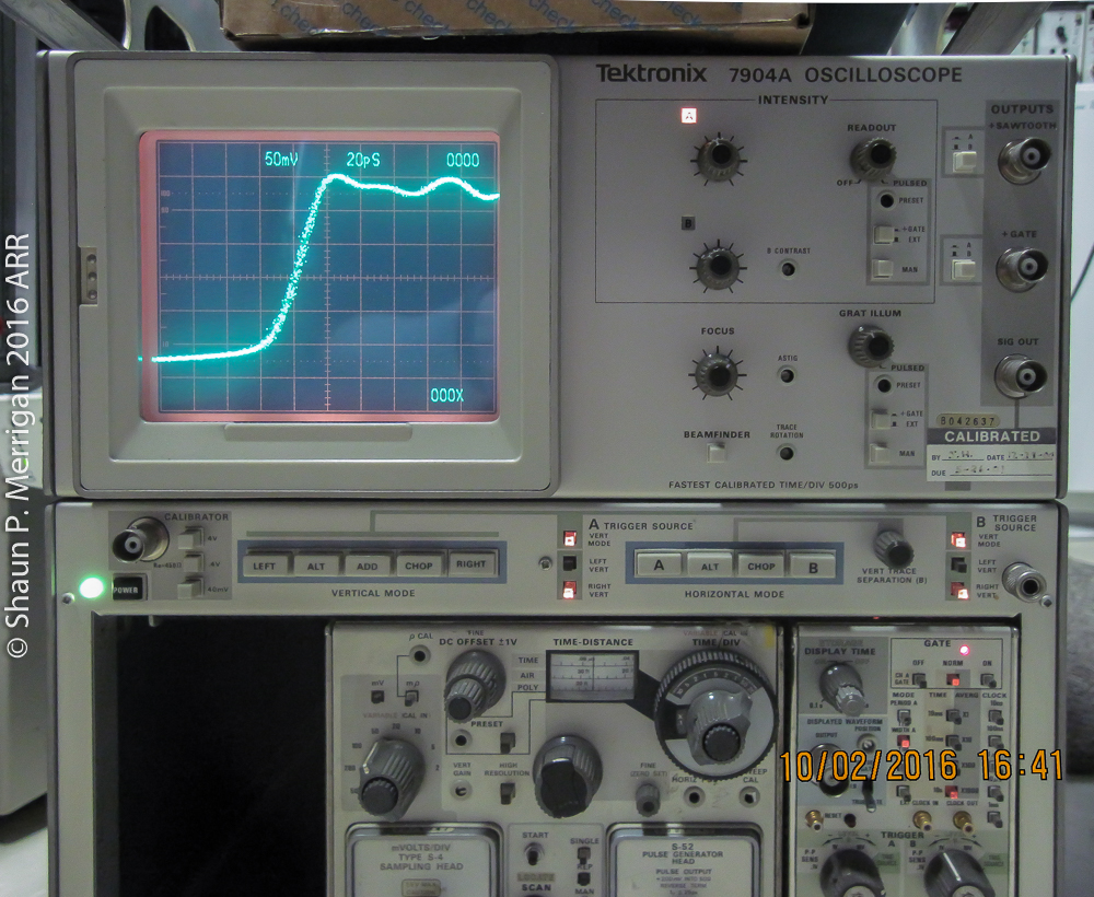 Tektronix 7904A Fast Rise Time Pulse
