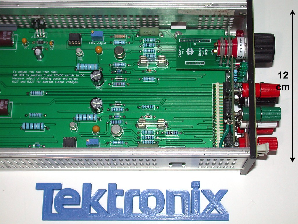 TM500 Tester Front Panel and Switch (updated)