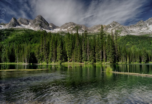 Island Lake, British Columbia