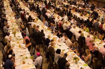Shabbat dinner 4