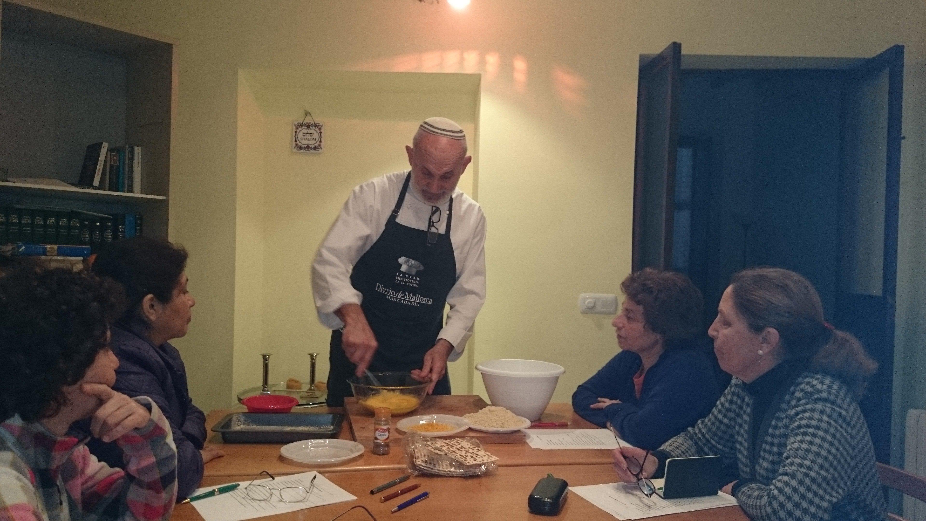 Chef Pinchas, famous Chuetas chef