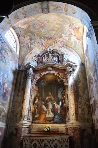 Inside La Cattedrale di San Giusto Trieste, Italy Date: Friday May 26, 2017