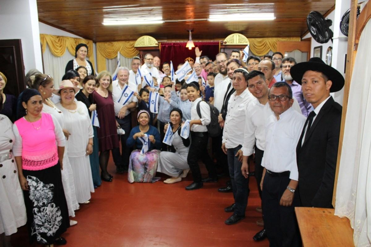 Oficjalna izraelska wizyta Bnei Anousim w Ameryce Południowej