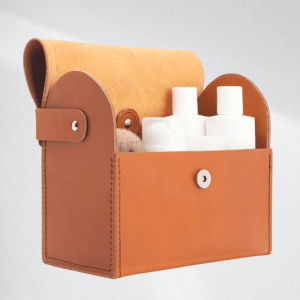 MÜHLE Manicure set with cowhide case