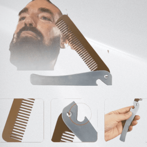 Shave Shop Total Beard Grooming & Trimming Kit