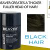 BEAVER Hair building fibers - Black