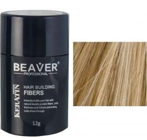 BEAVER Hair building fibers - Medium Blonde