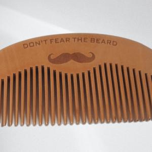 "Wooden Beard Comb ""Don't Fear The Beard"""