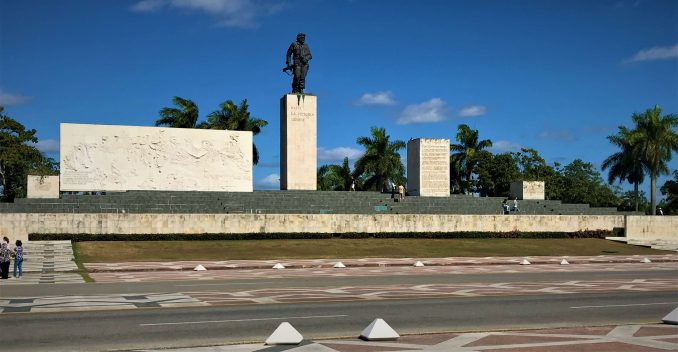 The memorial of Che Guevarra