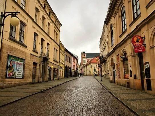 The historic center of Kutna Hora Czech Republic