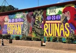 The mural in Copan Ruinas Honduras