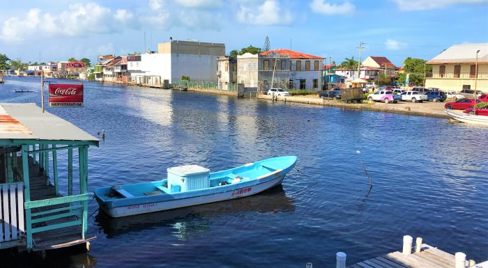 BELIZE CITY AND THE RIVER