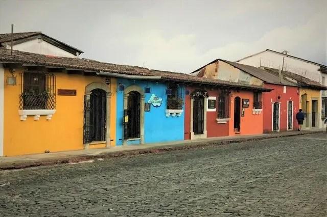 Antigua's colonial houses