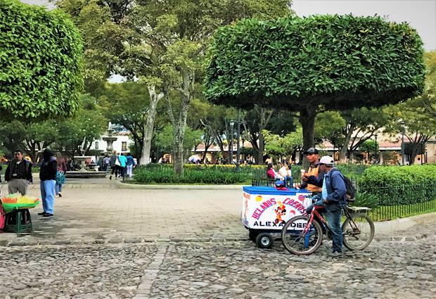 City public park Antigua Guatemala