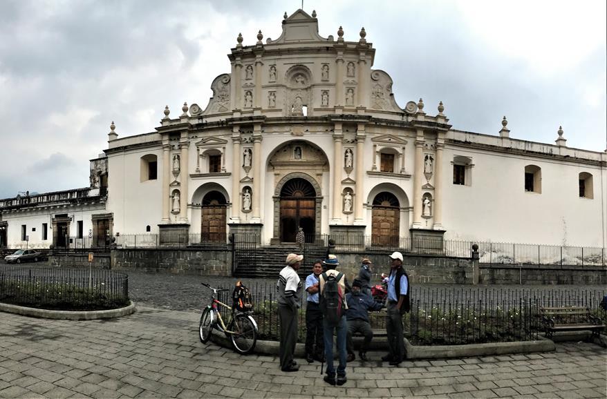 Church of San Jose cathedral Antigua Guatemala
