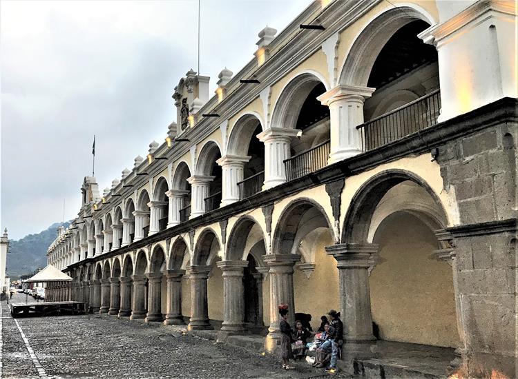 Town Hall of Antigua, Guatemala