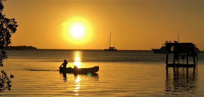 Sunset at Caye Caulker Belize
