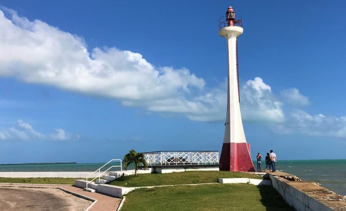 BLISS LIGHT HOUSE IN BELIZE