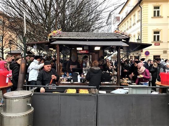Prague foodstreet
