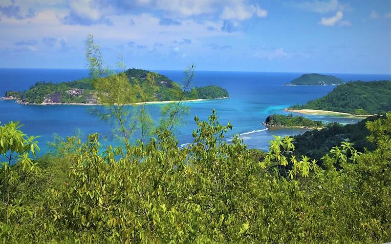 Views from Morne National Park -Mahe Seychelles
