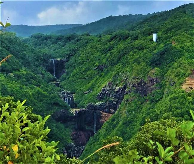 Tamarin waterfalls, Mauritius